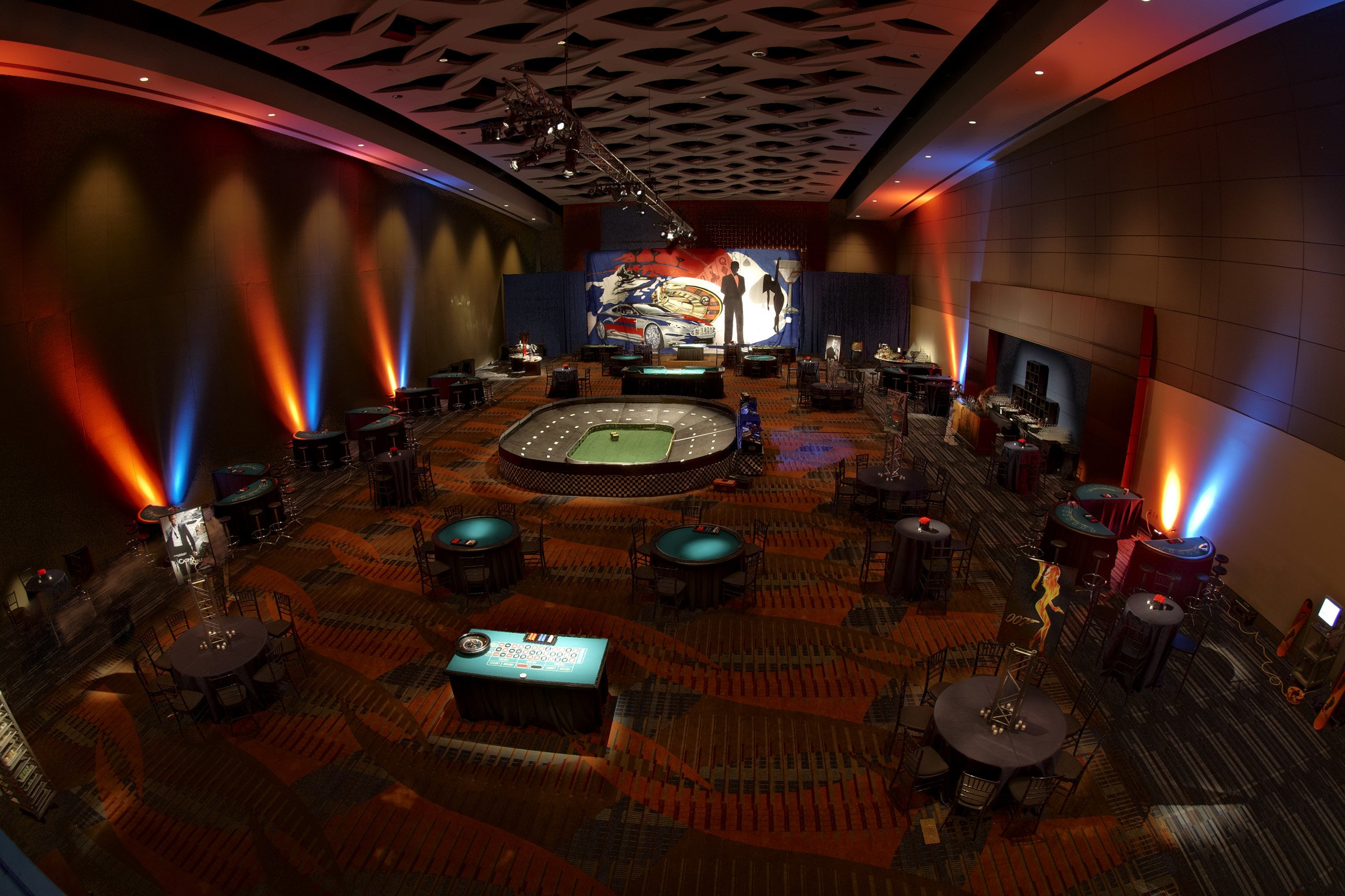 Convention Center Ballroom as Casino