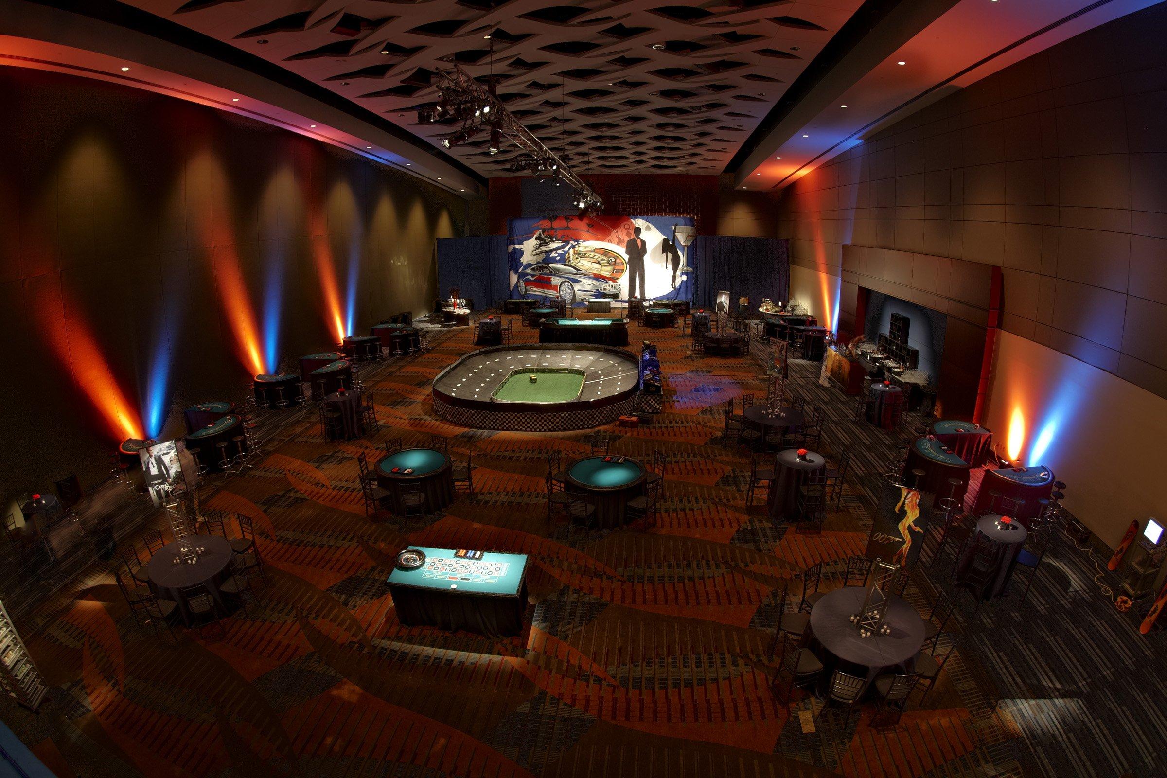 Convention Center Ballroom as Casino
